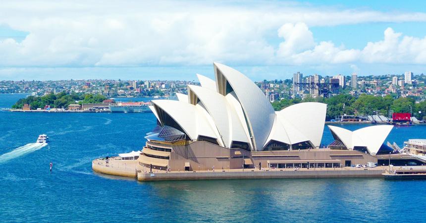 オーストラリア シドニー・オペラハウス