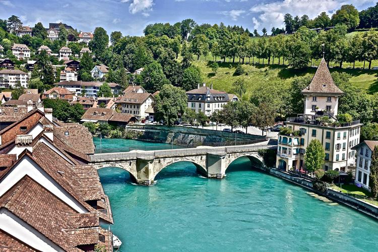 スイス ベルンの街並み