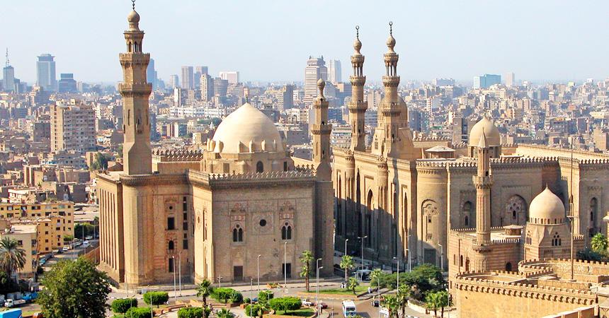 エジプト カイロの街並み