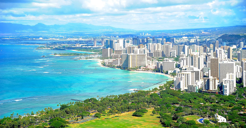 ハワイ州 オアフ島