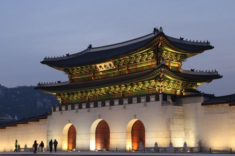韓国 光化門