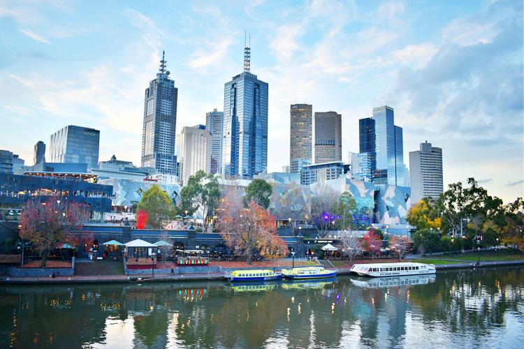 オーストラリア メルボルン ビジネス街