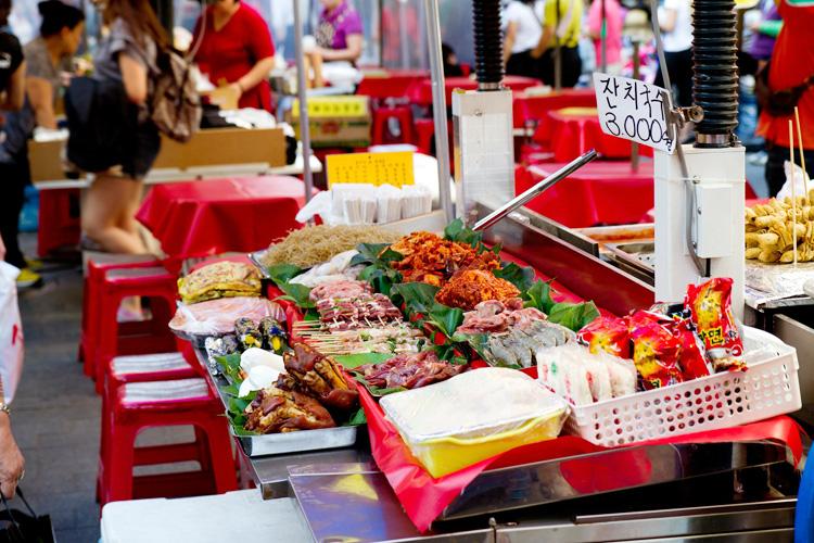 韓国 ソウル 市場