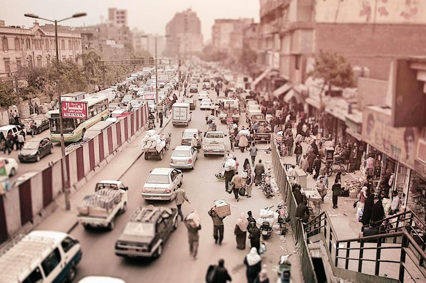 エジプト カイロ 市街地