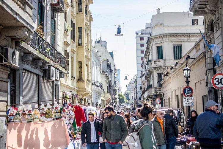 アルゼンチン 市街地